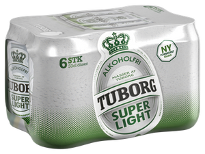 Tuborg Super Light 6-pack - NordicExpatShop