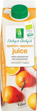 Ängelmark Organic Orange Juice - NordicExpatShop