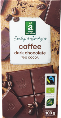 Änglamark Coffee & Dark Chocolate - NordicExpatShop