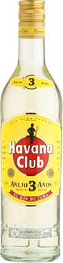 Havana Club 3 Years - NordicExpatShop