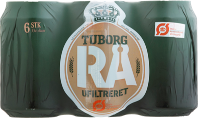 Tuborg Raw Organic 6-pack