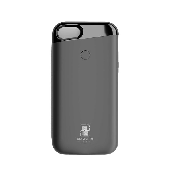 Krimston Dual SIM Case for iPhone 8 - Silver