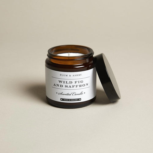 Wild Fig & Saffron Recycled Jar Candle