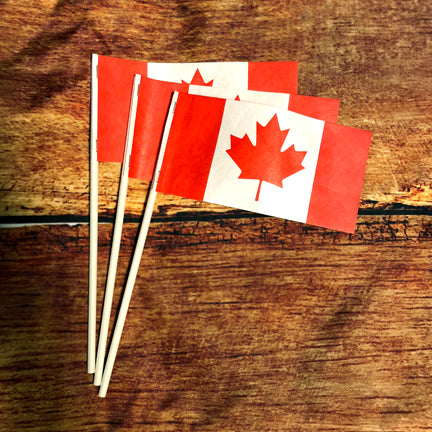 Canada Handwaver Stick Flags