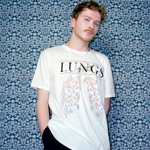 Flower Lungs White Tee + Digital Album
