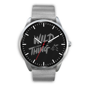 Silver Mesh Wild Thing Watch