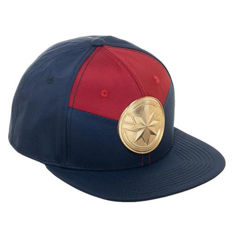 Captain Marvel Suit-Up Snapback Cap