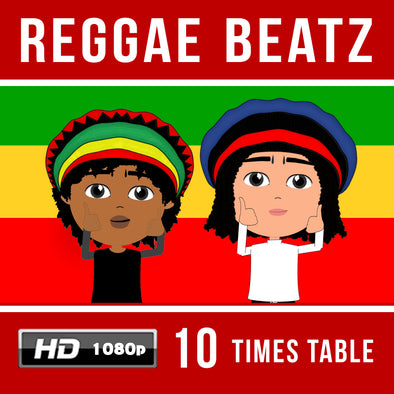 Reggae Beatz-10 Times Table Video