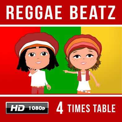 Reggae Beatz 4 Times Table Video