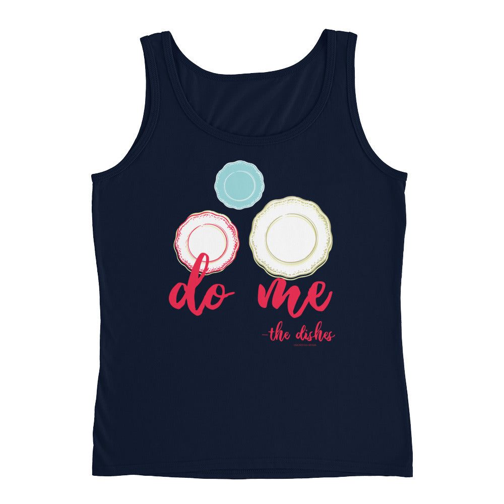 """Do Me - the dishes"" Great for wedding rental vendors Ladies' Tank"