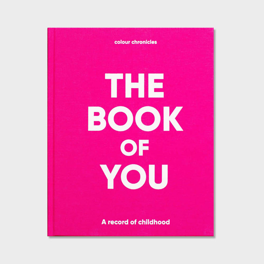 Colour Chronicles The Book of You Book in Blue