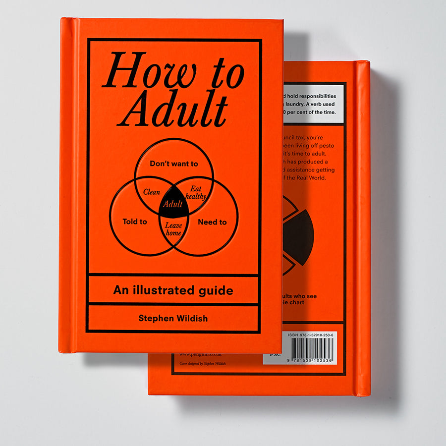 Ebury Press How to Adult front cover