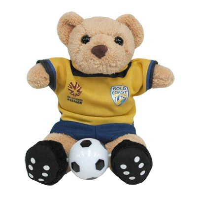 Gold Coast United F.C. Beanie Bear (Limited Edition)