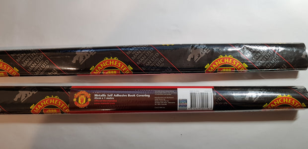Manchester United F.C. Self Adhesive Book Cover