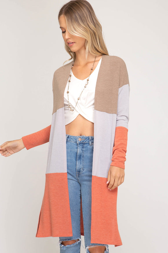 In Living Color Cardi - P141
