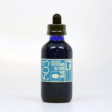 Sass - Sarsaparilla Root Beer E-Juice by 503 e-Liquid