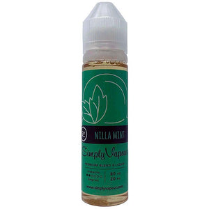 Nilla Mint E-Juice by Simply Vapour Liquids (Peppermint French Vanilla)