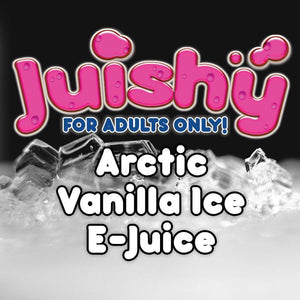 Arctic Vanilla Ice E-Liquid by Juishy E-Juice