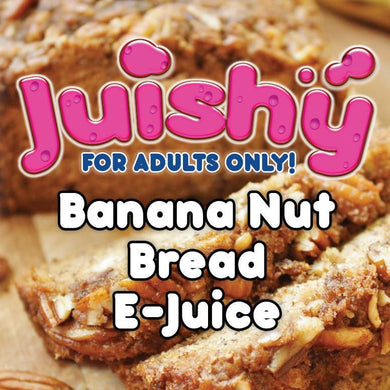Banana Nut Bread E-Liquid by Juishy E-Juice