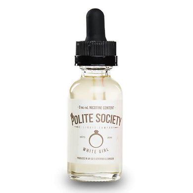 White Girl - Vanilla Chai Tea E-Juice by Polite Society E-Liquid (30ml)