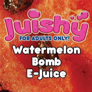 Watermelon Bomb E-Liquid by Juishy E-Juice (100ml)