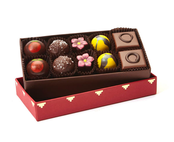 Bountiful 10-Piece Assorted Chocolate Caramels