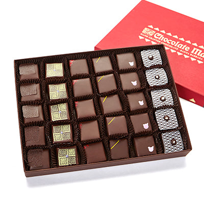 30 pieces assorted Purist chocolates