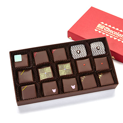 15 pieces assorted Purist chocolates
