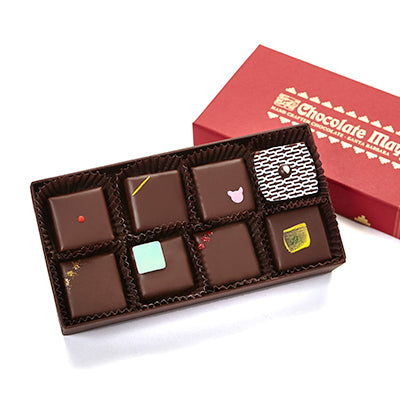 8 pieces assorted Purist chocolates