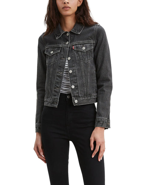 Levi Women's Original Trucker Jacket - Dirt On My Boots