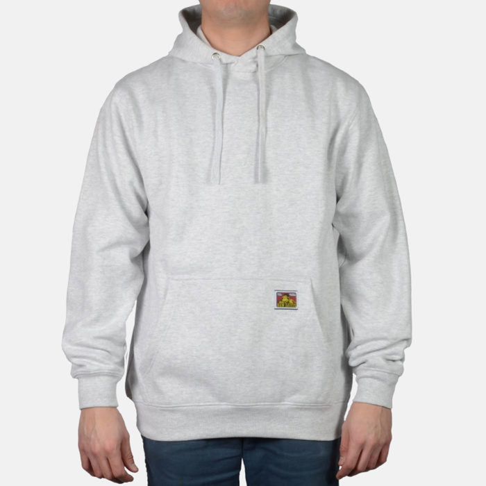 Ben Davis Heavyweight Hooded Sweatshirt - Ash Grey
