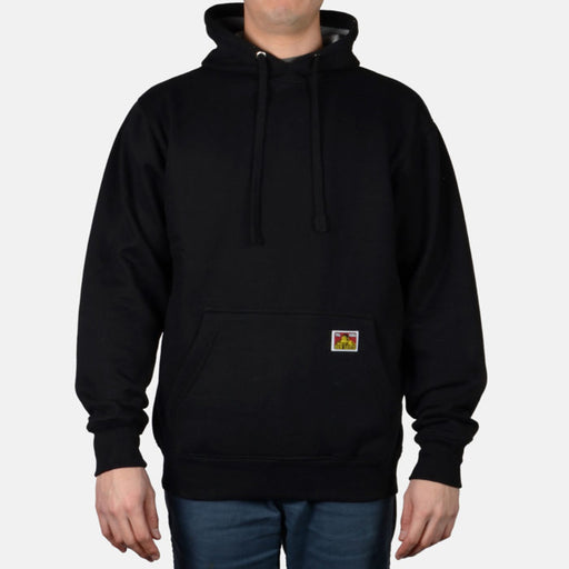 Ben Davis Heavyweight Hooded Sweatshirt - Black