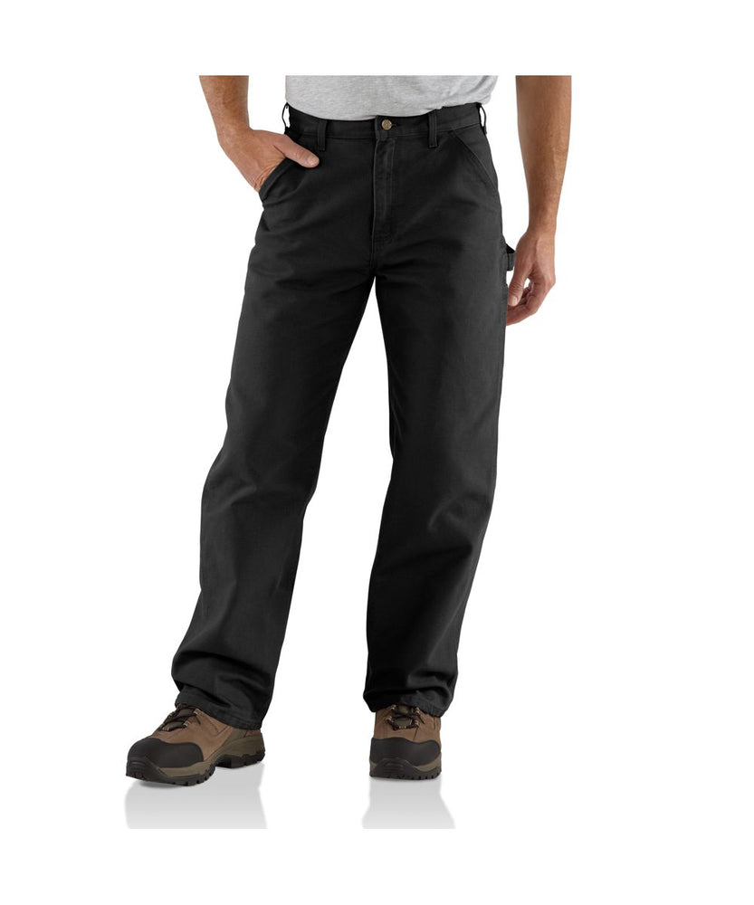 Carhartt B11 Washed Duck Work Dungaree - Black