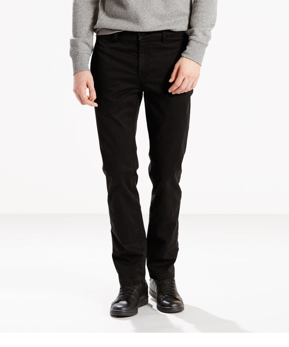 Levis 511 Slim Fit Chino- Black-Cruz Twill