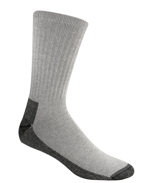 Wigwam At-Work Cotton Crew Socks(3 Pack) – Grey