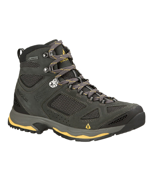 Vasque Breeze 3 GTX Waterproof Men's Hiking Boots – 7194 – Magnet/Yellow