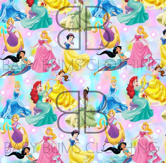PREORDER PASTEL PRINCESS BLANKET - Baby Bums Clothing