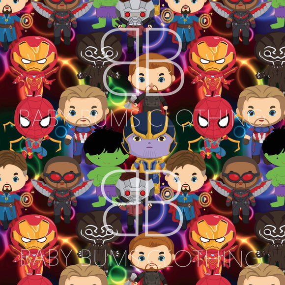 PREORDER BABY SUPERHERO BLANKET - Baby Bums Clothing