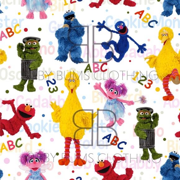 PREORDER 123 & ABC BLANKET - Baby Bums Clothing