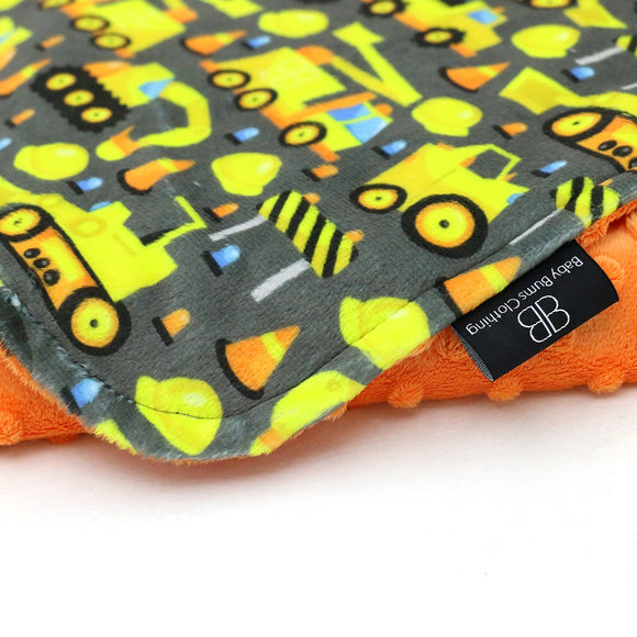 RTS CONSTRUCTION BLANKET - Baby Bums Clothing