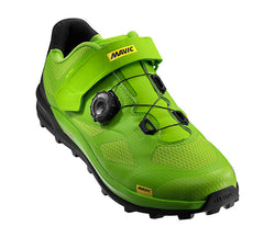 Zapatillas Mavic XA Pro - Lime Green / Pirate Black