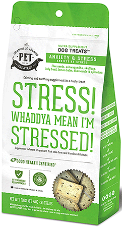 Granville Nutra Treats Stress! Whaddya Mean I'm Stressed! - Perroow