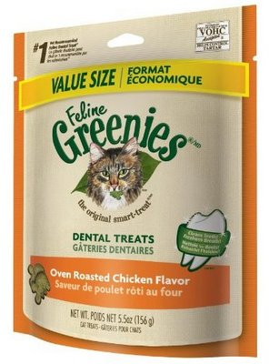 Greenies Feline Dental Treats Chicken - Perroow