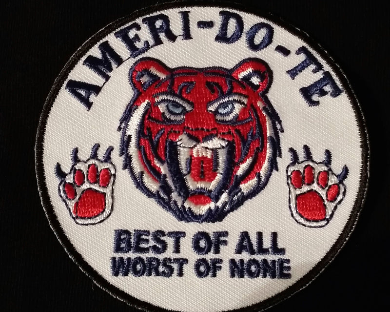 Master Ken Tiger Patch