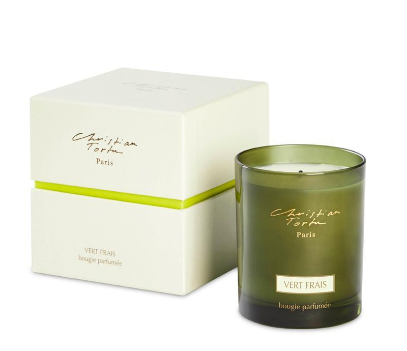 Christian Tortu 190g Scented Candle Fresh Green