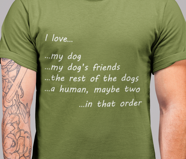 In That Order (Human) - Men's Premium T-Shirt