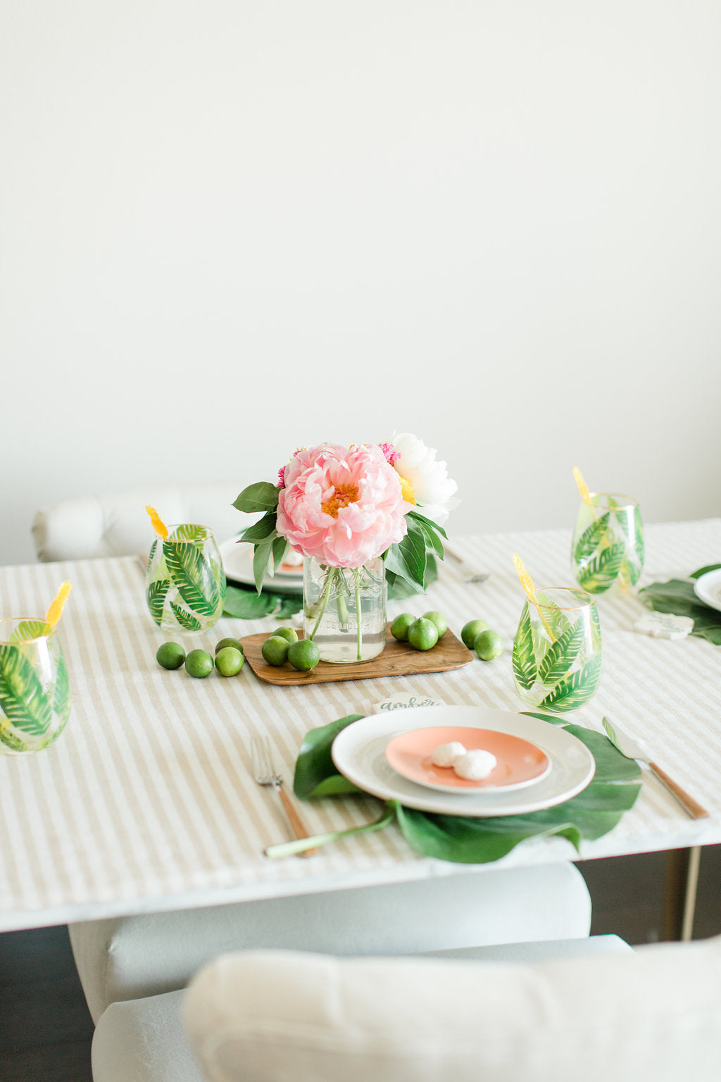 Island Inspired Summer Tablescape ideas featured by top US Gifting Goods Store, Mostess