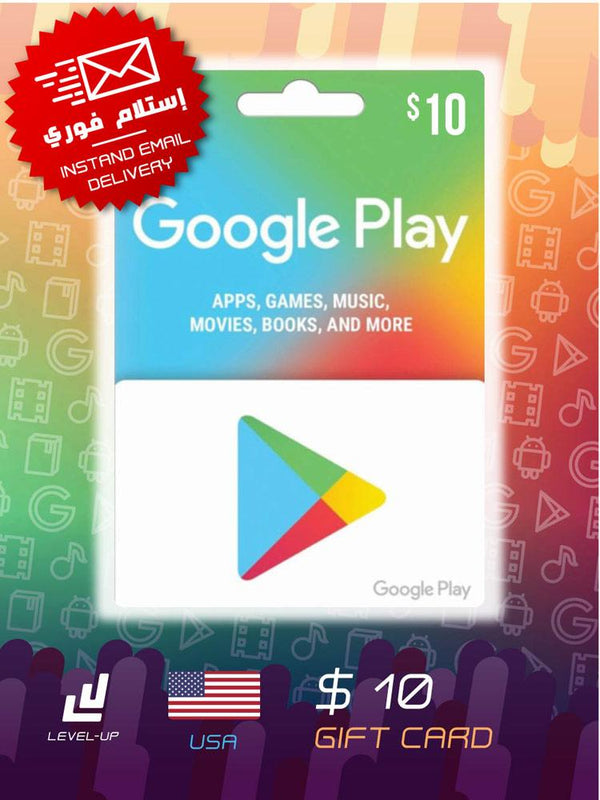 Digital Cards - Google Play Gift Card $10