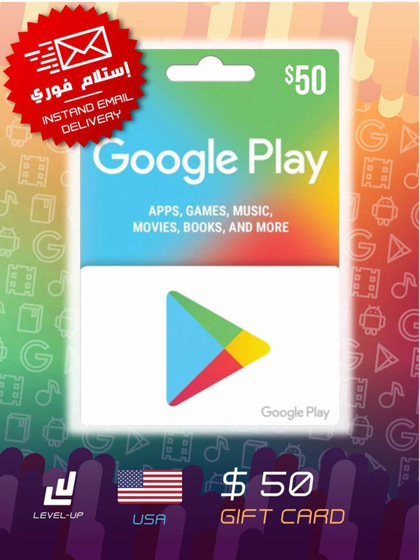 Digital Cards - Google Play Gift Card $50