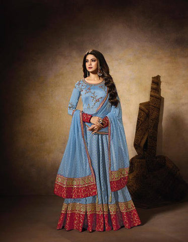 Aqua Make to Order Salwar Gown